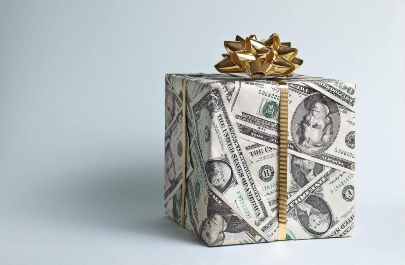 Где взять деньги на подарок?